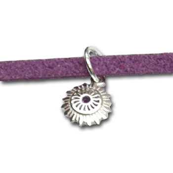Crown Chakra Charm Anklet or Bracelet Free Size