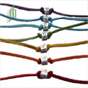 Chakra Anklets or Bracelets Set of 7 free size
