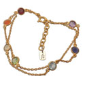 Well-being Chakra Bracelet Gold-plated