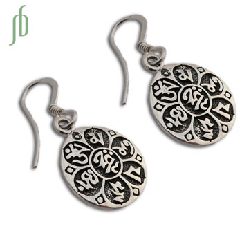 Om Mani Padme Hum Earrings
