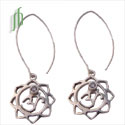 Om Lotus Earrings