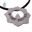 Om Mani Padme Hum Lotus Necklace